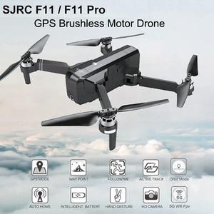 Image 4 - SJRC F11 4K PRO drone mit 2 achsen gimbal stabilisator kamera F11/F11 PRO GPS Drone 5G Wifi 1080P/2K Cam Quadcopter Vs SG906 Eders