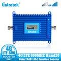 Lintratek LTE 800 МГц усилитель сигнала сотового телефона 4G 800 МГц повторитель сигнала сотовой связи booster band 20 4g интернет-сеть