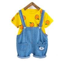 Детская одежда для мальчиков и девочек летняя хлопковая Футболка