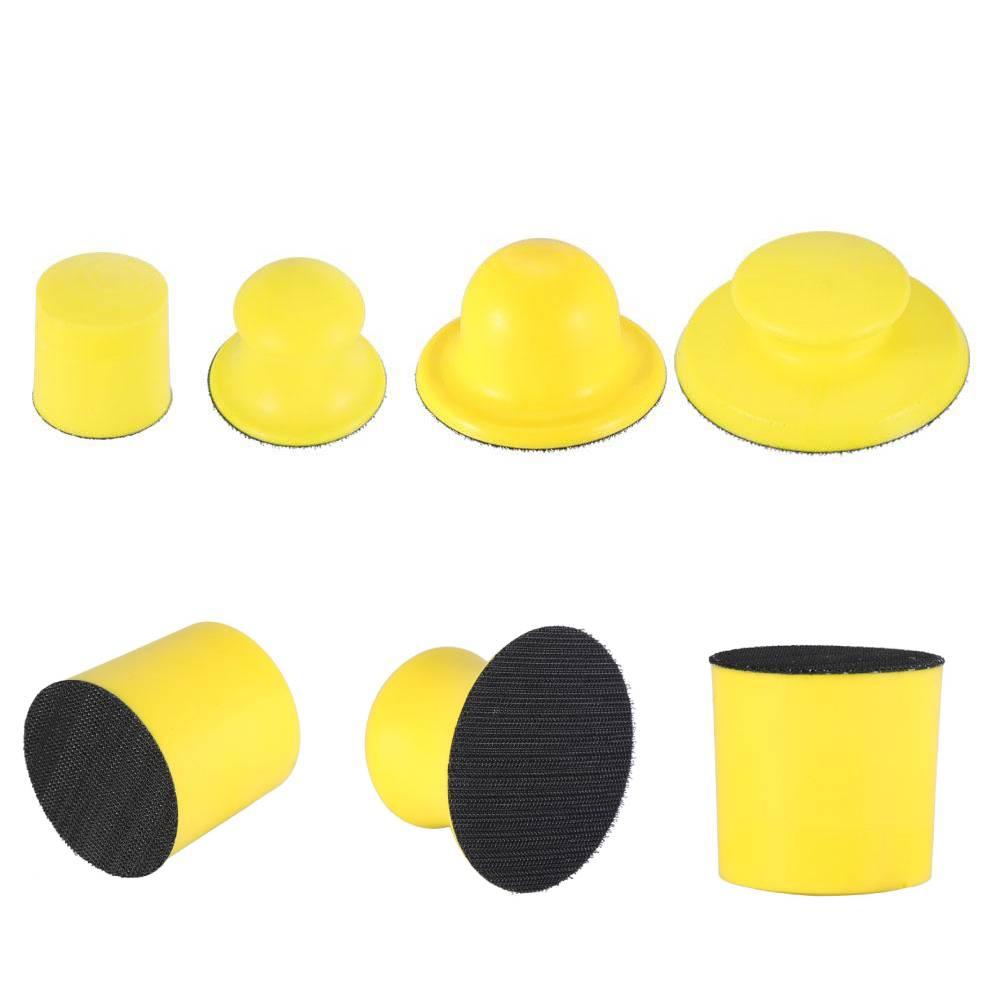 Hand Sanding Block Velcro Soft Hard Sanding Block for Hook and Loop Sanding Discs Sanding Block