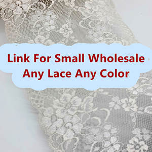 Trim Dress Clothing-Accessories Lace-Fabrics for Wholesale-Moq-1 Kg-Stretch-Lace Link