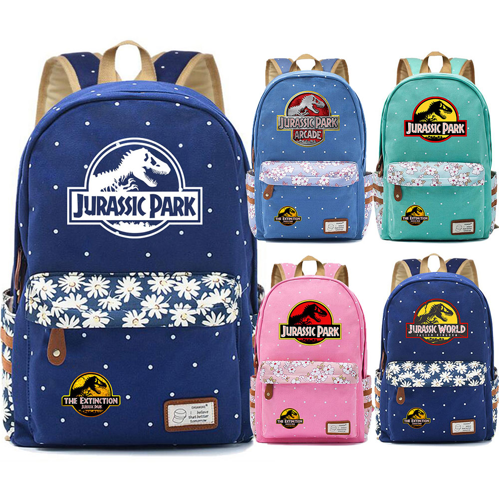 Lightweight Large Capacity Portable Luggage Bag Dinosaur Park Travel Duffel Bag Backpack