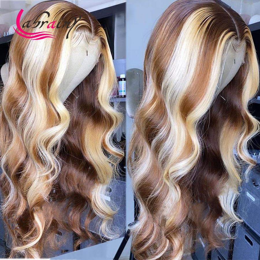 corpo perucas de cabelo humano colorido remy