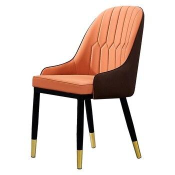 Sillas de comedor de lujo nórdico moderno minimalista hogar ...