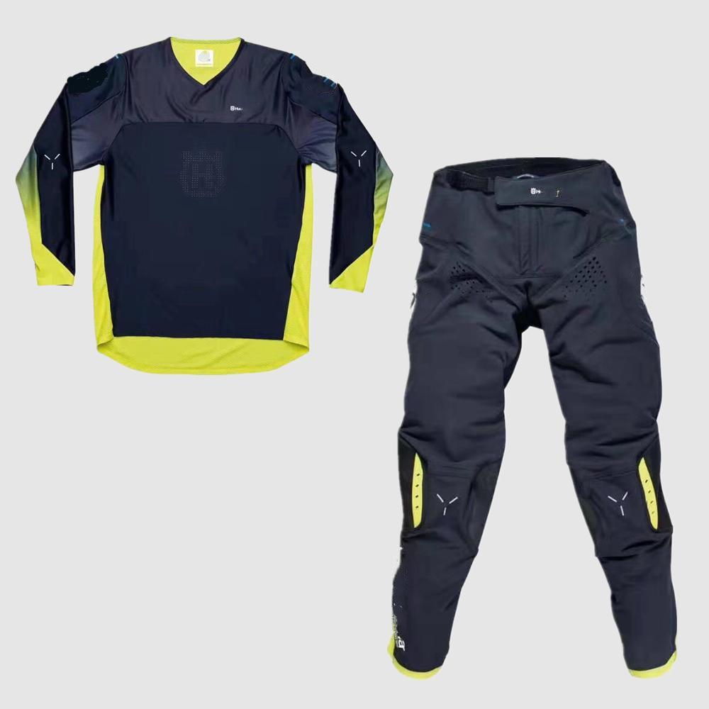 2020 Motocross Adult Racing Gear Set Dirt Bike MTB ATV Jersey Pants Suit Racing Motorcycle Riding Hat Gloves