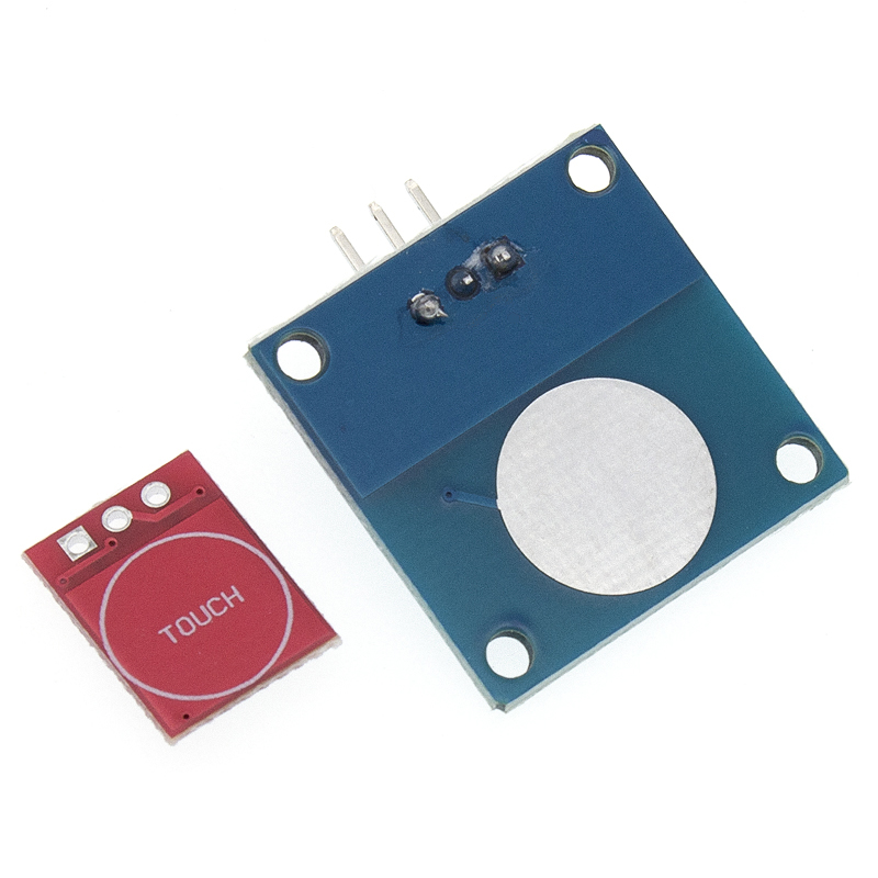 Image 2 - 100 шт. TTP223 сенсорный ключ модуль переключателя сенсорная кнопка самоблокирующийся/без блокировки емкостные переключатели одноканальный реконструкция-in Интегральные схемы from Электронные компоненты и принадлежности on AliExpress