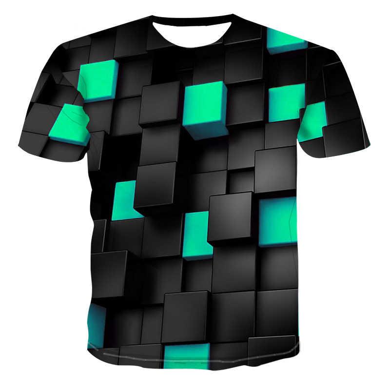 2020 nova masculina casual de manga curta camiseta em torno do pescoço moda engraçado impressão 3d camiseta masculina e feminina qualidade marca camisa