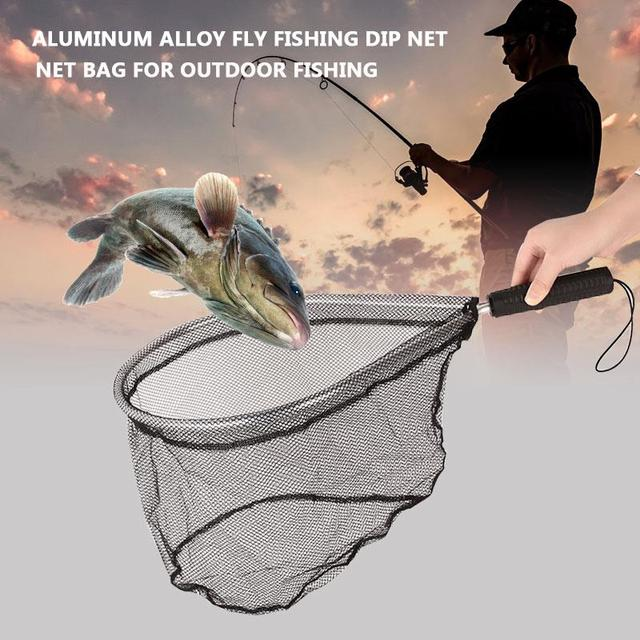 Black aluminum alloy nets fishing