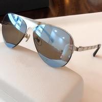 Men Sunglasses Mirror Driving Pilot Oval Sunglasses Oculos De Sol Vintage Ladies Shades