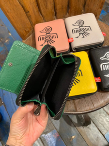 Image 3 - Orabird Genuine Leather Women Short Wallets Card Holder Cute Purse Ladies Luxury Small Wallet for Cards Money Bag 2019
