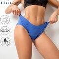 4 слоя менструальные Трусики женские сексуальные герметичные под брюки недержание нижнее белье трусы из бамбукового волокна водонепроница...
