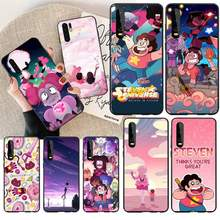 PENGHUWAN Cartoon Steven Universe Newly Arrived Cell Phone Case for Huawei P30 P20 lite Mate 20 Pro lite P Smart 2019 prime(China)