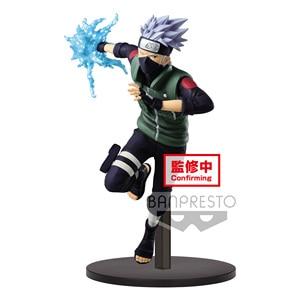 Image 4 - Tronzo Original Banpresto Vibration Stars Naruto Shippuden Naruto Sasuke Kakashi Gaara Battle Ver PVC Action Figure Model Toys
