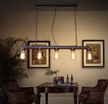hanglamp rope Home Decoration E27 Light Fixture  living room  LED  pendant lights lustre pendente hanglamp industrial lamp