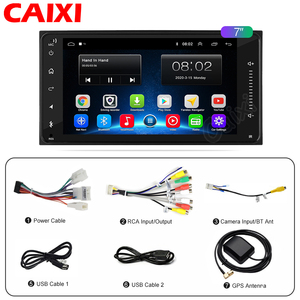 Image 5 - 2din Universal android 9.0 Car Radio Player Stereo Car Multimedia Player  for toyota COROLLA VIOS CROWN CAMRY HIACE PREVIA RAV4