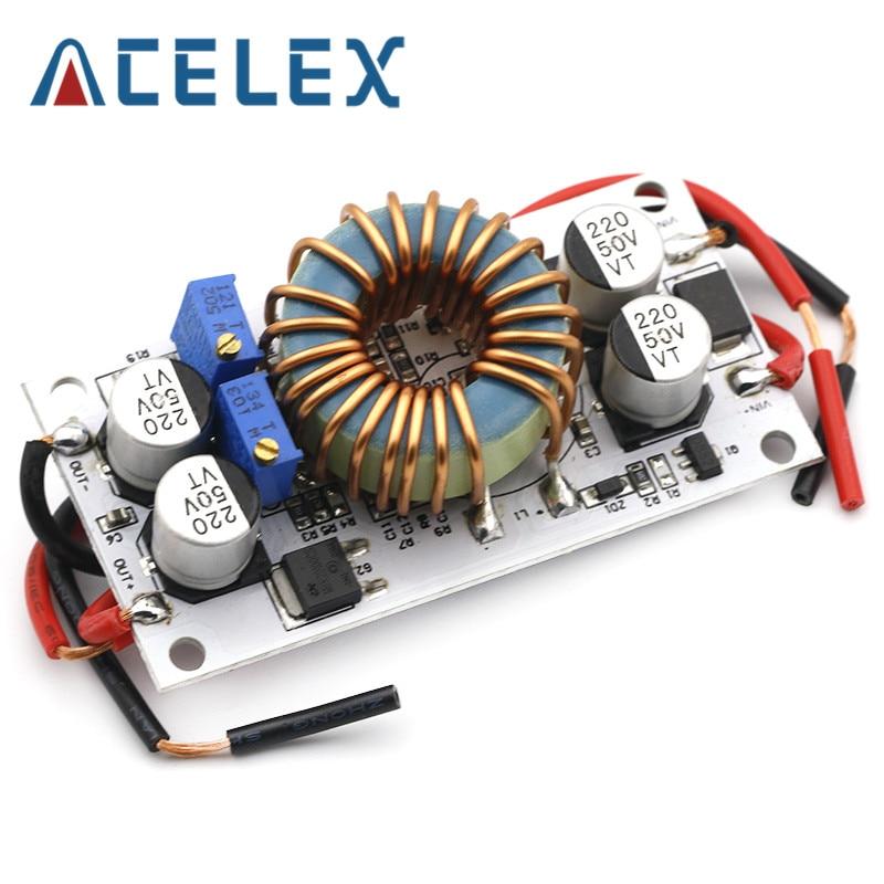 1 шт. DC DC повышающий преобразователь постоянного тока мобильный источник питания 10A 250 Вт светодиодный Повышающий Модуль драйвера|Драйвер двигателя|   | АлиЭкспресс
