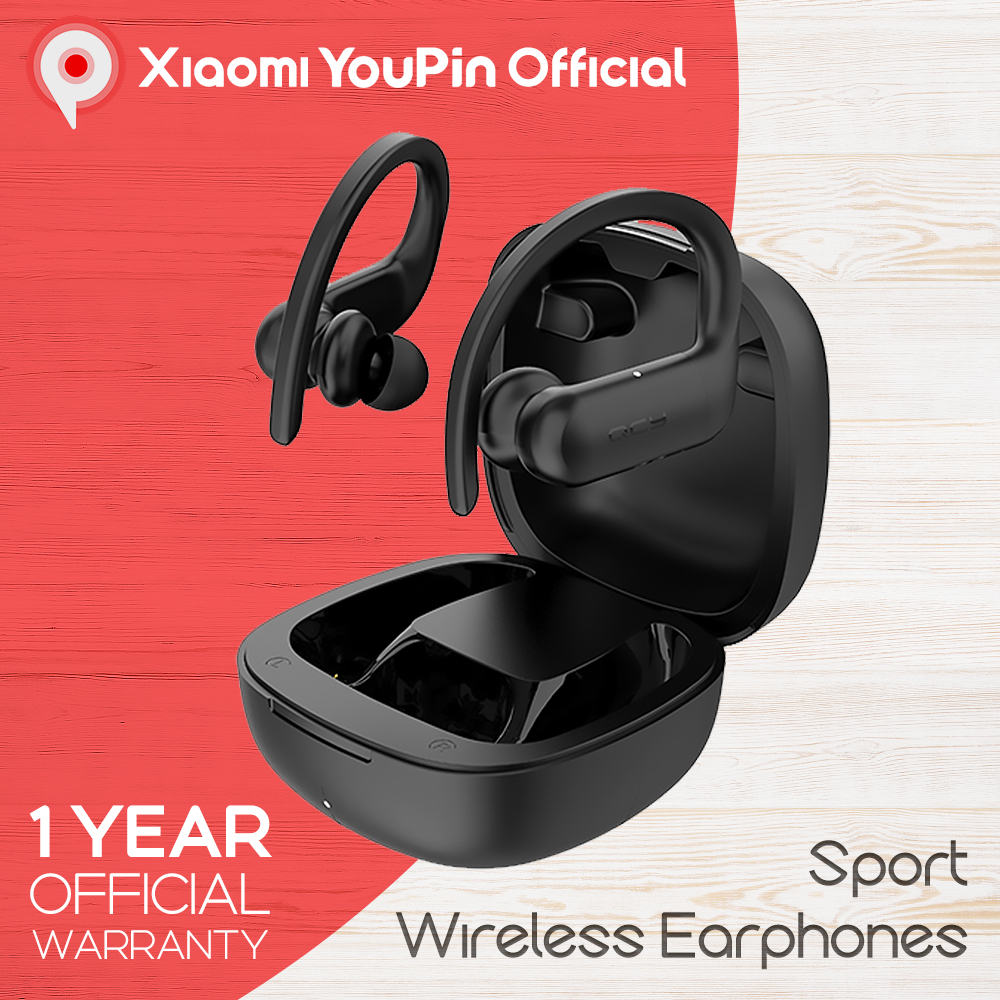 YouPin QCY T6 TWS Sport Earphone Bluetooth 5 0 Wireless App Control ACC SBC Light IPX4 Waterproof DSP Earbuds Noice Reduction