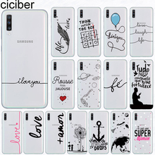 Ciciber Phone Case for Samsung Galaxy A50 A70 A80 A40 A30 A20 A60 A10 A20e Soft Silicone TPU Portuguese Art Cover Fundas Coque