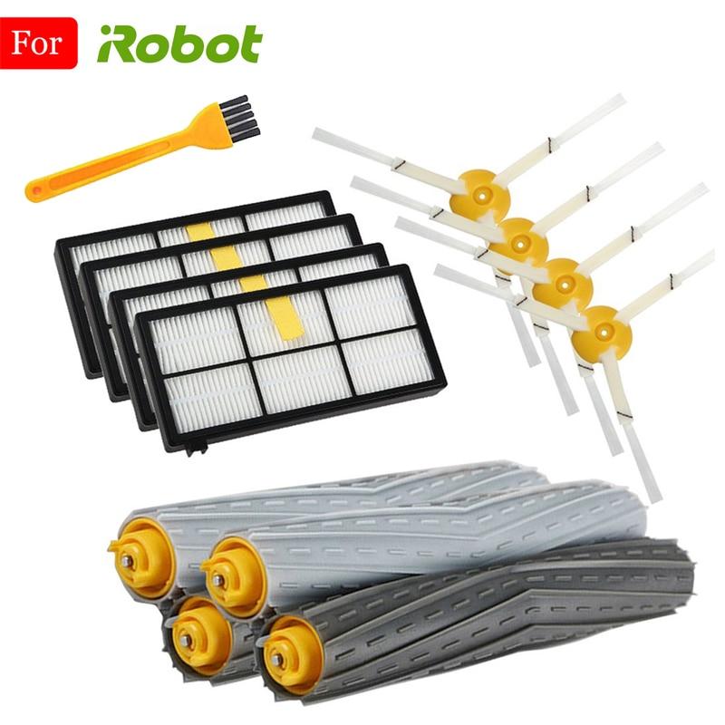 Набор сменных кистей HEPA для iRobot Roomba 980, набор аксессуаров для пылесоса 990 900 896 886 870 865 866 800
