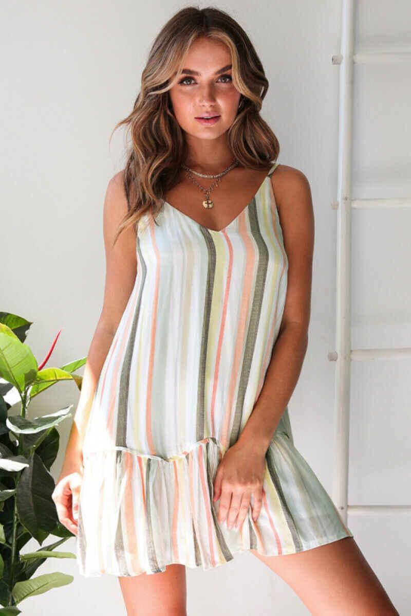 Sexy Senza Spalline Beach Vestito Da Estate Prendisole Dell'annata Della Boemia Mini Vestito Veste Femme Boho Floreale Delle Donne di Modo caldo del vestito Vestido