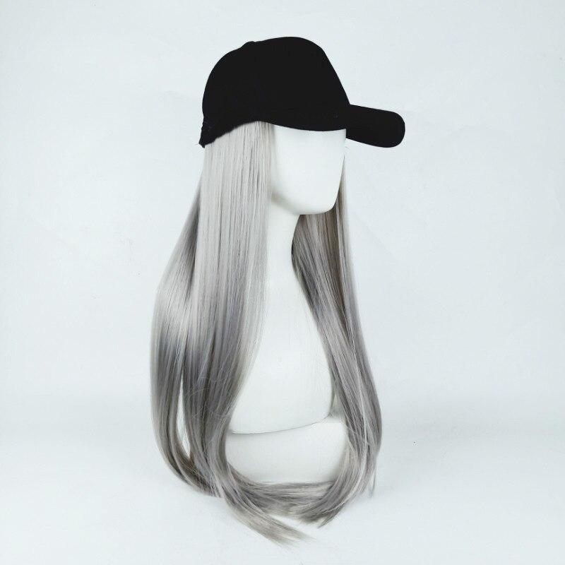 Hair Hat One Sun Visor Lengthened Brim Baseball Cap Fishing Cap Spring Summer Outdoor Duck Hat Women