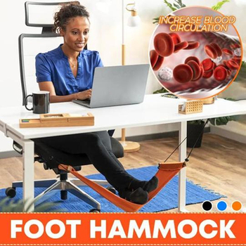 Mini Desk Feet Hammock Foot Chair Care Tool The Foot Hammock Outdoor Rest Cot Portable Foot Hammock Office Feet Rest foot rest portable travel footrest flight carry on foot rest office bus airplane feet rest feet hammock travel accessories
