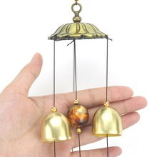 Two/Three Tiers Metal Home Decorative Wind Chimes Gold Ingot Hanging Ornaments Lucky Decoration