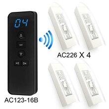 Trasmettitore RF 433.92mhz telecomando universale senza fili per relè ricevitore porta Garage per automazione domestica intelligente