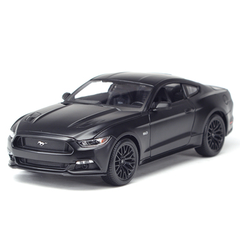 Maisto 1:18 2015 Ford Mustang Sports Car Static Simulation Diecast Alloy Model Car maisto 1 18 2015 ford mustang gt diecast model sports racing car vehicle black new in box