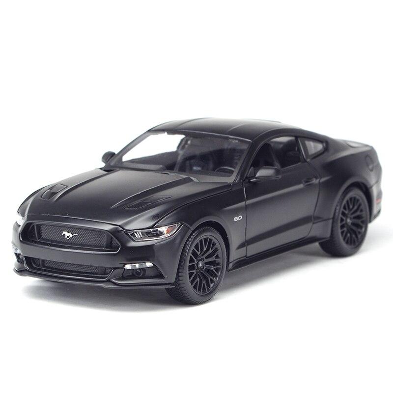 Maisto 1:18 2015 Ford Mustang coche deportivo simulación estática Diecast aleación modelo Coche A93 funda de silicona para la llave del coche para Starline A39 A36 A63 A93 alarma de coche de dos vías LCD mando a distancia Fob cubierta llavero Protector piel