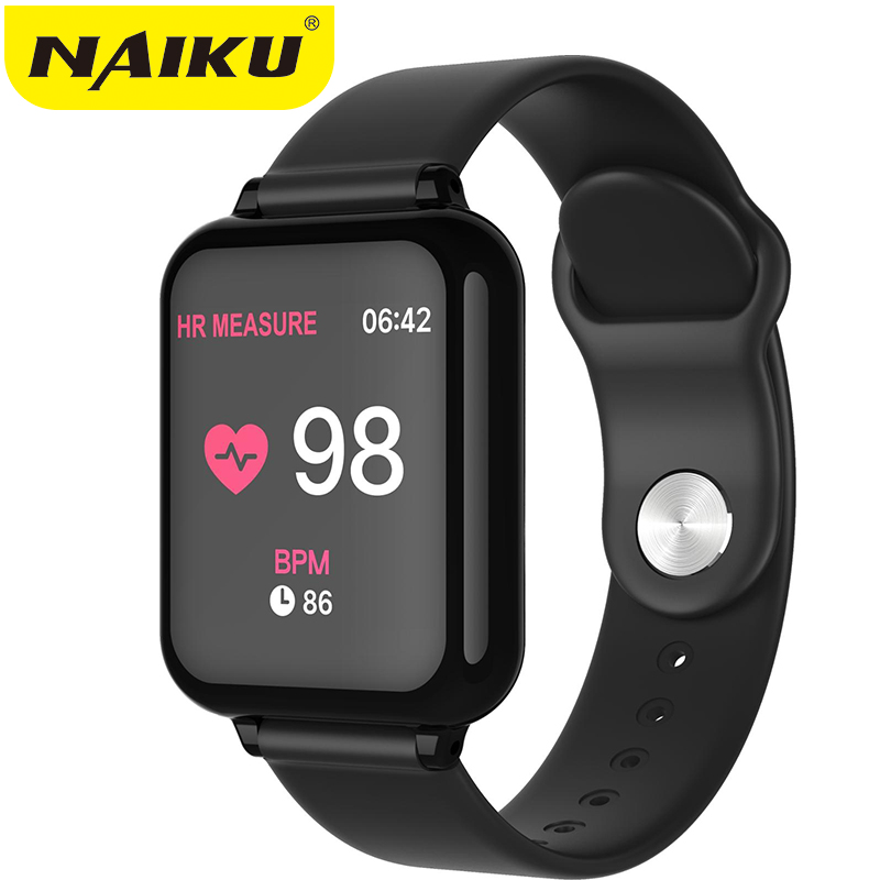 B57 Smart Watch Waterproof Heart Rate Monitor Blood Pressure  Sport Women Smartwatch Women Wearable Watch Men Smart Clock PK Q9