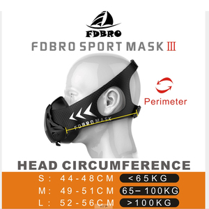Image 5 - FDBRO Sports Mask Elevation Running Fitness Pack Style Black High Altitude Training Fit Sports Mask 2.0 Mask Cloth Free Shipping