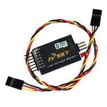 1PC FrSky FrSky Sensor de Tensão X9D FLVSS X4R X8R Retorno FLVSS Smart Porto 5V 2-6S para Zangão RC Acessórios de Peças De Reposição DIY