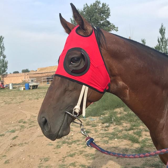 Wind Resistant Equestrian Eye Mask  2