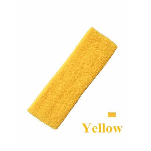 1 Piece High Quality Cotton Antiperspirant Belt Sports Unisex Sweat Headband Running Basketball Yoga Hairband Elastic Headband 5