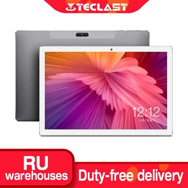 Teclast M30 10.1インチのタブレット2560 × 1600 2.5 18k ipsスクリーン4 3g phablet MT6797 X27デカコア4 1gbのram 128ギガバイトromアンドロイド8.0タブレットpc