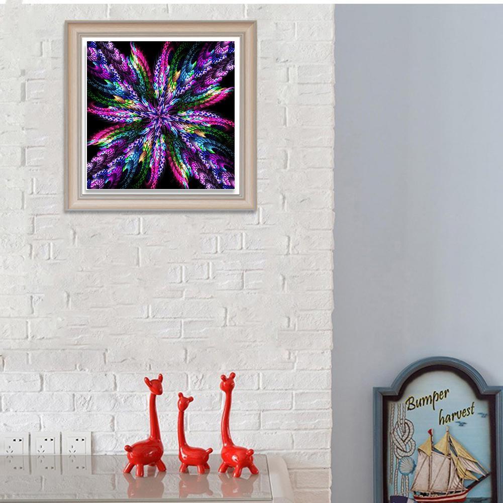 Fantasy Kaleidoscope 5D DIY Full Drill Diamond Painting Home Arts 30*30cm