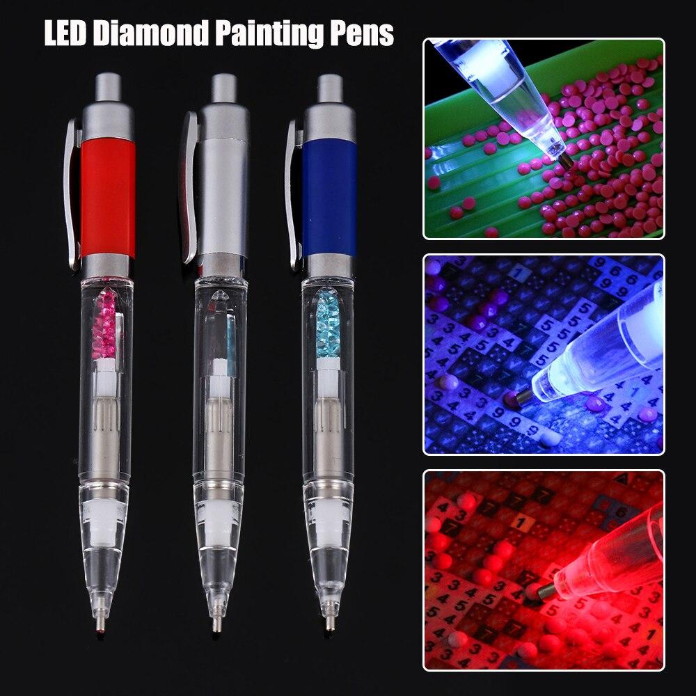 Cases Tool Cross Stitch Tools Diamond Painting Pen Pen Heads Point Drill Pen