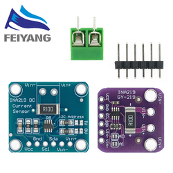1PCS SOT23 INA219 Bi-directional DC Current Power Supply Sensor Breakout Module DIY 3V-5V IIC I2C Power Monitoring Sensor Module