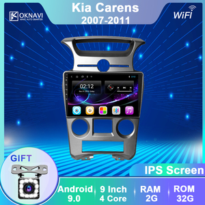 OKNAVI IPS Android 9.0 Car Multimedia Player For Kia Carens 2007 2008 2009 2010 2011 Car Radio Stereo Head Unit GPS Navigation