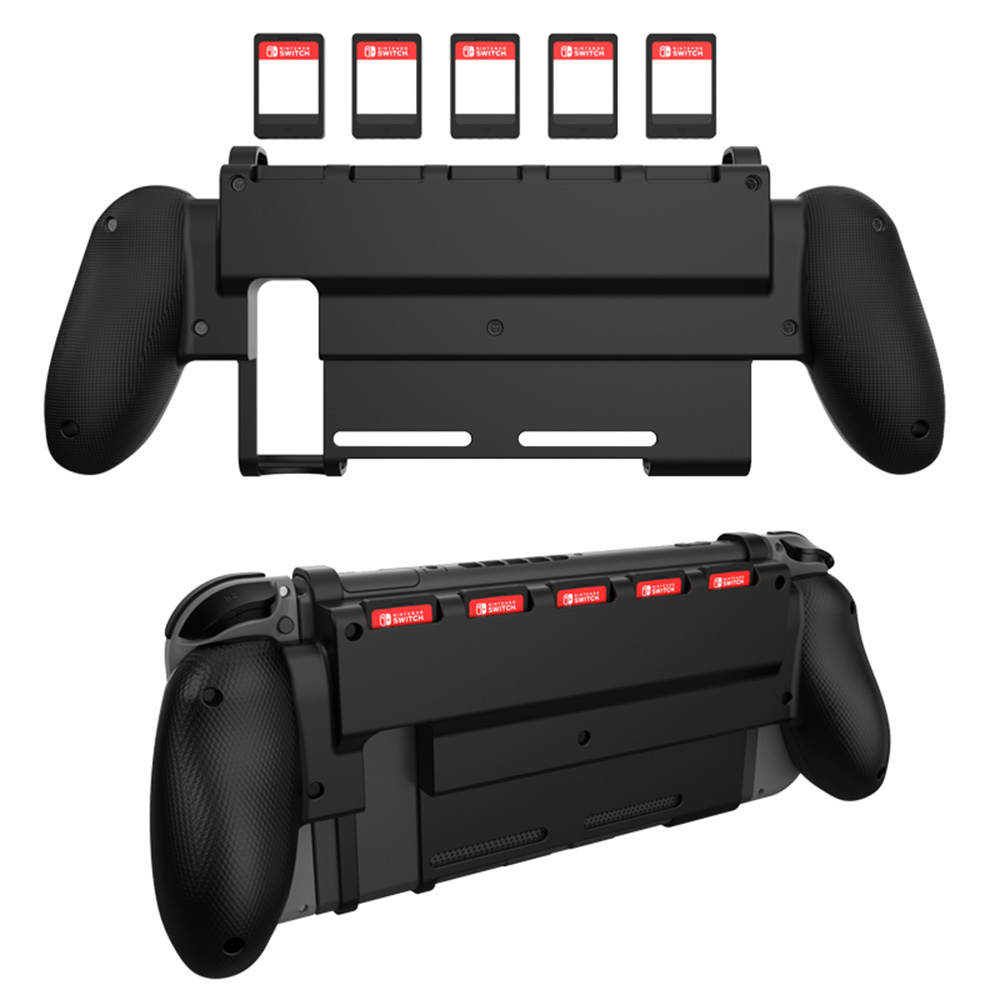 for Nintend Switch Protective Guard Case Grip Gripstand Handle bracket Grip 5 Game Card Slot For Nintendos Switch NS Accessory