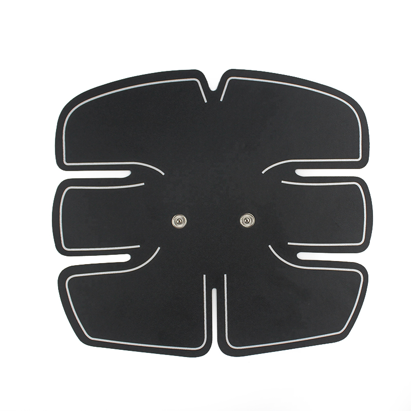 1pcs Slim Abdominal Muscle Trainer Sticker Electric Pulse Treatment Massager Stimulator Pad Gym Abs Slimmer Sports Fitness