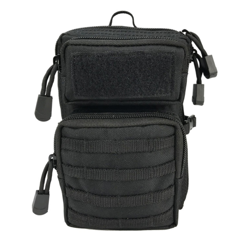 Men Women Outdoor Army Fan Sports Chest Bag Mobile Phone Change Accessory Pouch Camping Hiking Utility Waist Bag