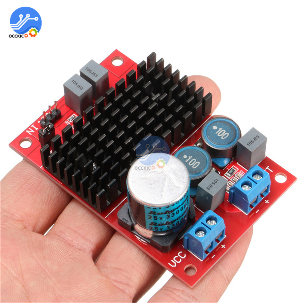 Hot Selling DC 12V-24V Audio Amplifier Board TPA3116 Mono Channel Digital Power Amplifiers Module For Arduino BTL Out 100W
