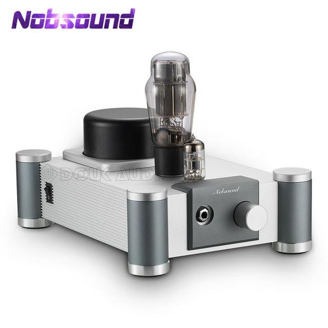 Nobsound 6N5P+6N11 Vacuum Tube Headphone Amplifier Desktop Single ended Class A Audio Amp