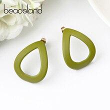 цены на Beadsland Acetic Acrylic Drop Earrings Hollow Waterdrop Design Fashion Ethnic Woman Girl Party Festival Hot Sell Gift 40413  в интернет-магазинах