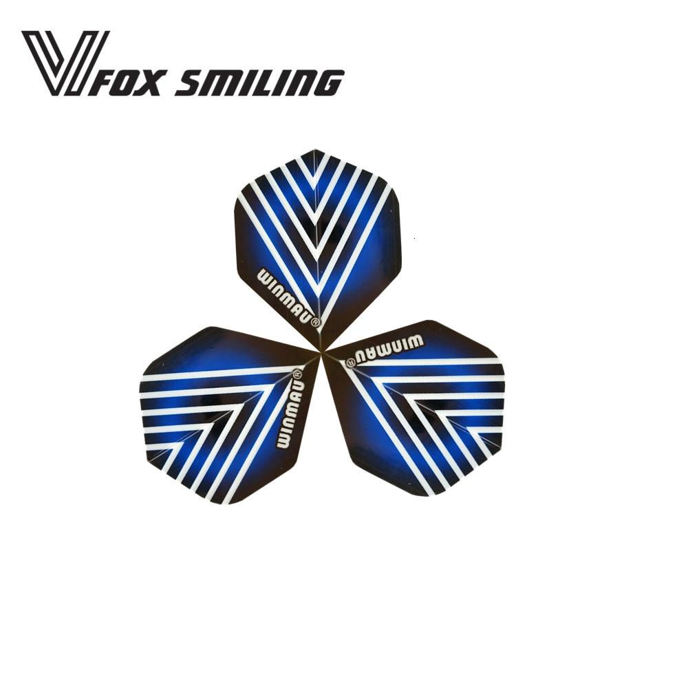 Fox Smiling 30pcs/set Nice Darts Flights For Professional Darts Wings Tails Darts Accessories DFL-113004