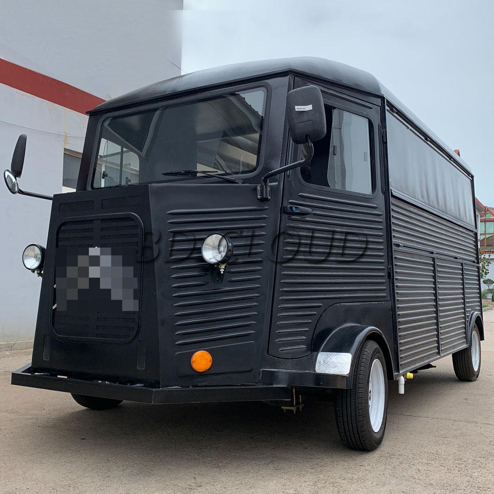 2019 Electric Fast Food Trailer Truck With Cheap Prices
