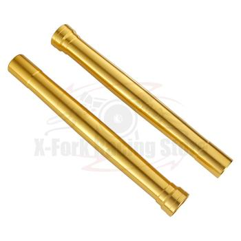 Fork Outer Tubes Golden color For Suzuki GSXR 600 2011-2017 Outer Fork Pipes 2012 2013 2014 2015 2016
