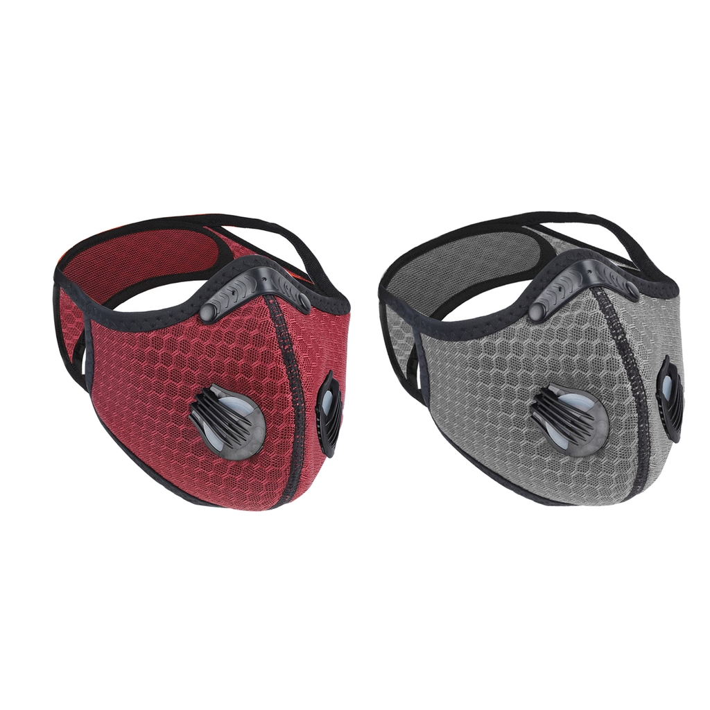 Hc478ab34aefa42068752870188e4e183S Neoprene Cycling Face Mask Cycling Half Face Mask Biking Adjustable Facemask Activated Carbon Face Cover